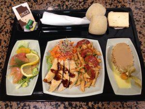 plateau-repas carré crokant